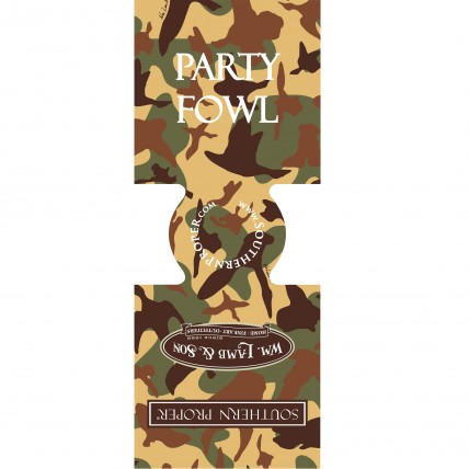 Party Fowl Camo Coozie